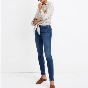 Madewell jeans. High rise skinny